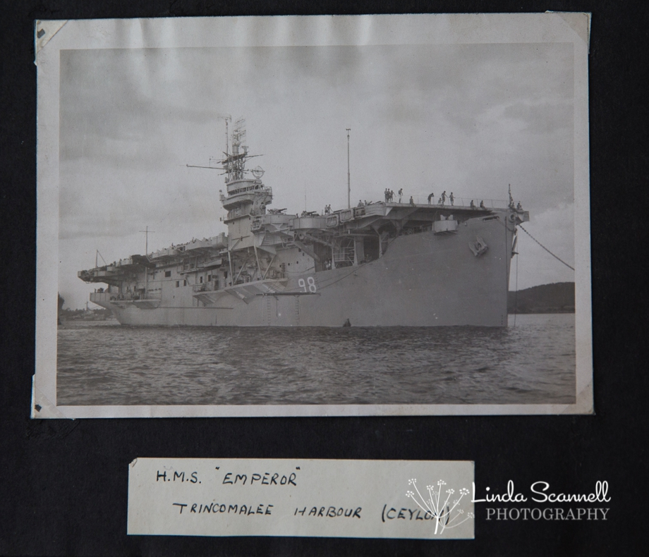 HMS Emperor 1945 | Royal Navy World War II Aircraft Carrier
