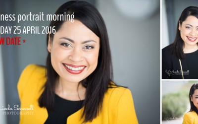 Last chance to get your early bird discount for Monday's business headshot session