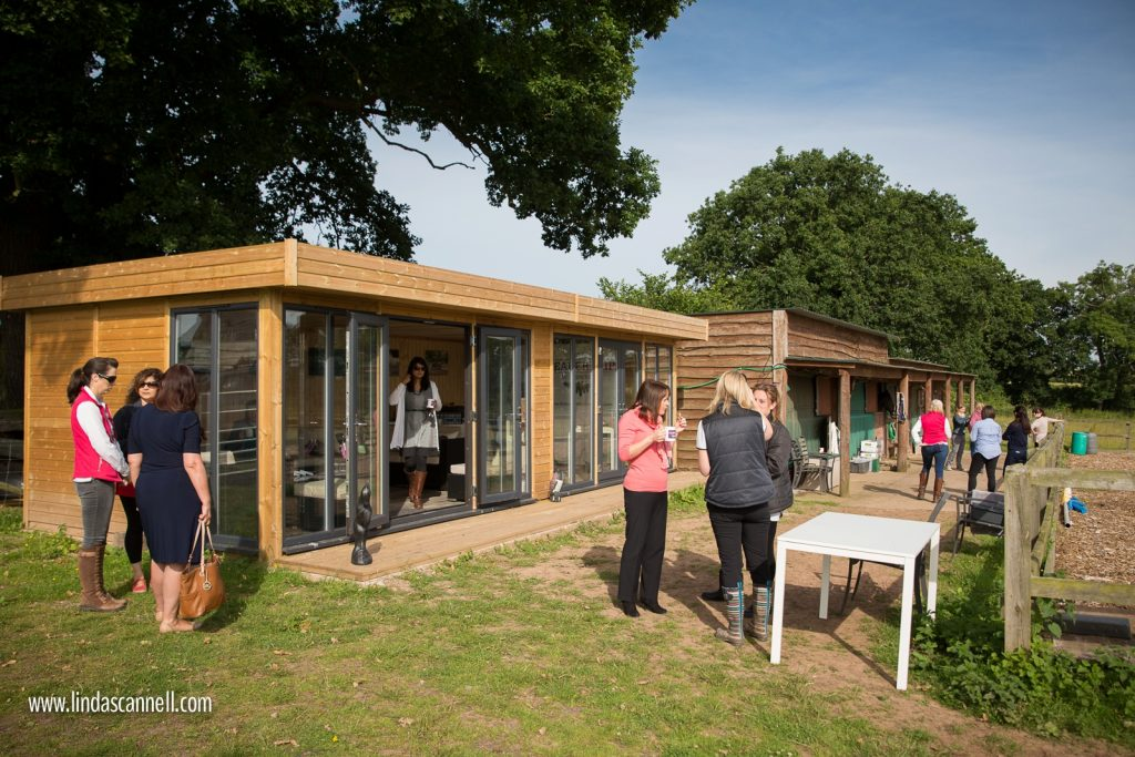 Women-networking-Warwickshire-outdoors