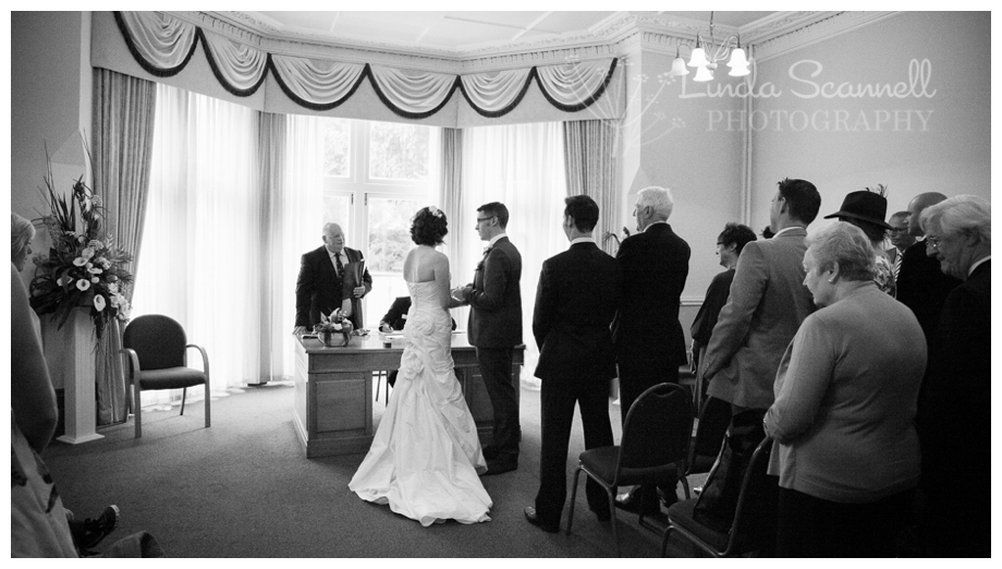A Warwick Register Office wedding