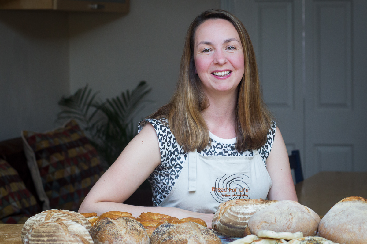 Business portrait - Warwickshire baker