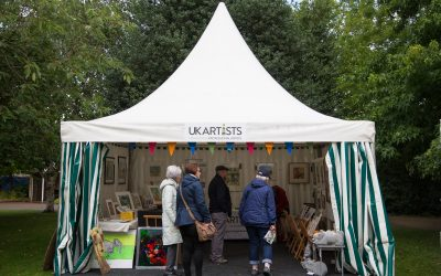 Art in the Park 2017 in Leamington Spa